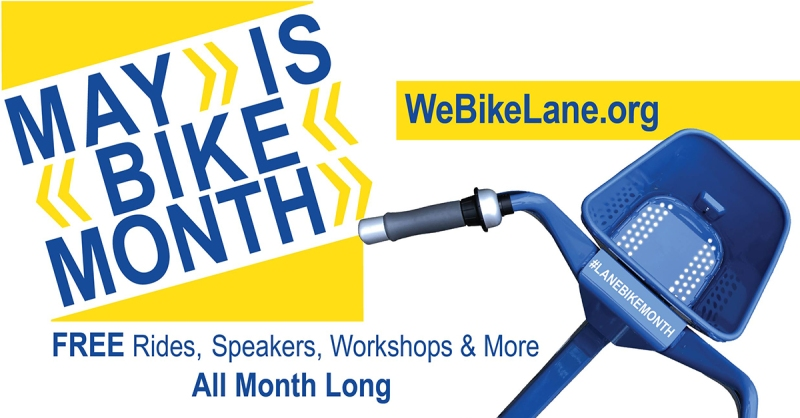May Is Bike Month 2018