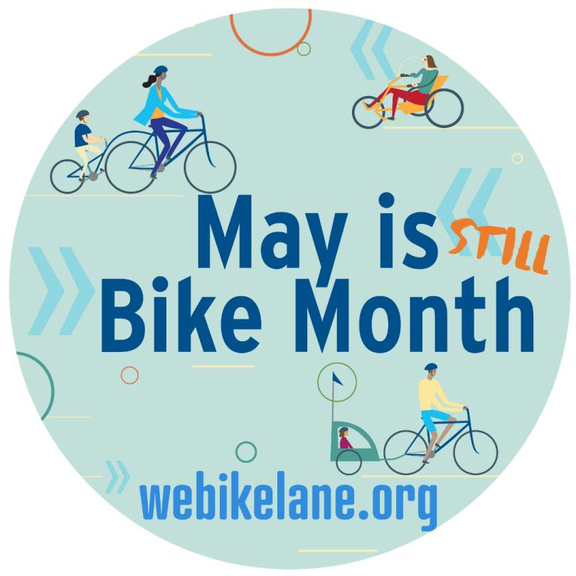 Bike Month Badge